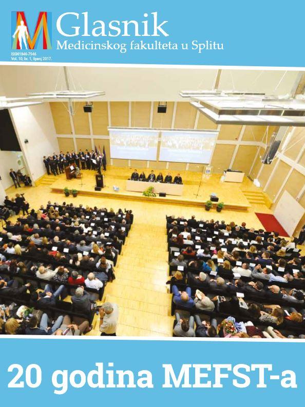 Novi broj Glasnika Medicinskog fakulteta