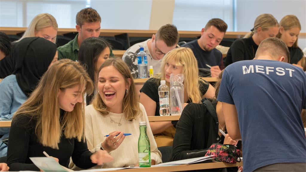 Welcome Day for students of the 1st year of Medical Studies in English - Photo Gallery