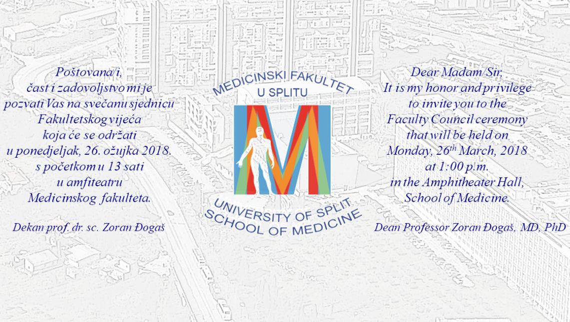 Dan Medicinskog fakulteta u Splitu 2018.