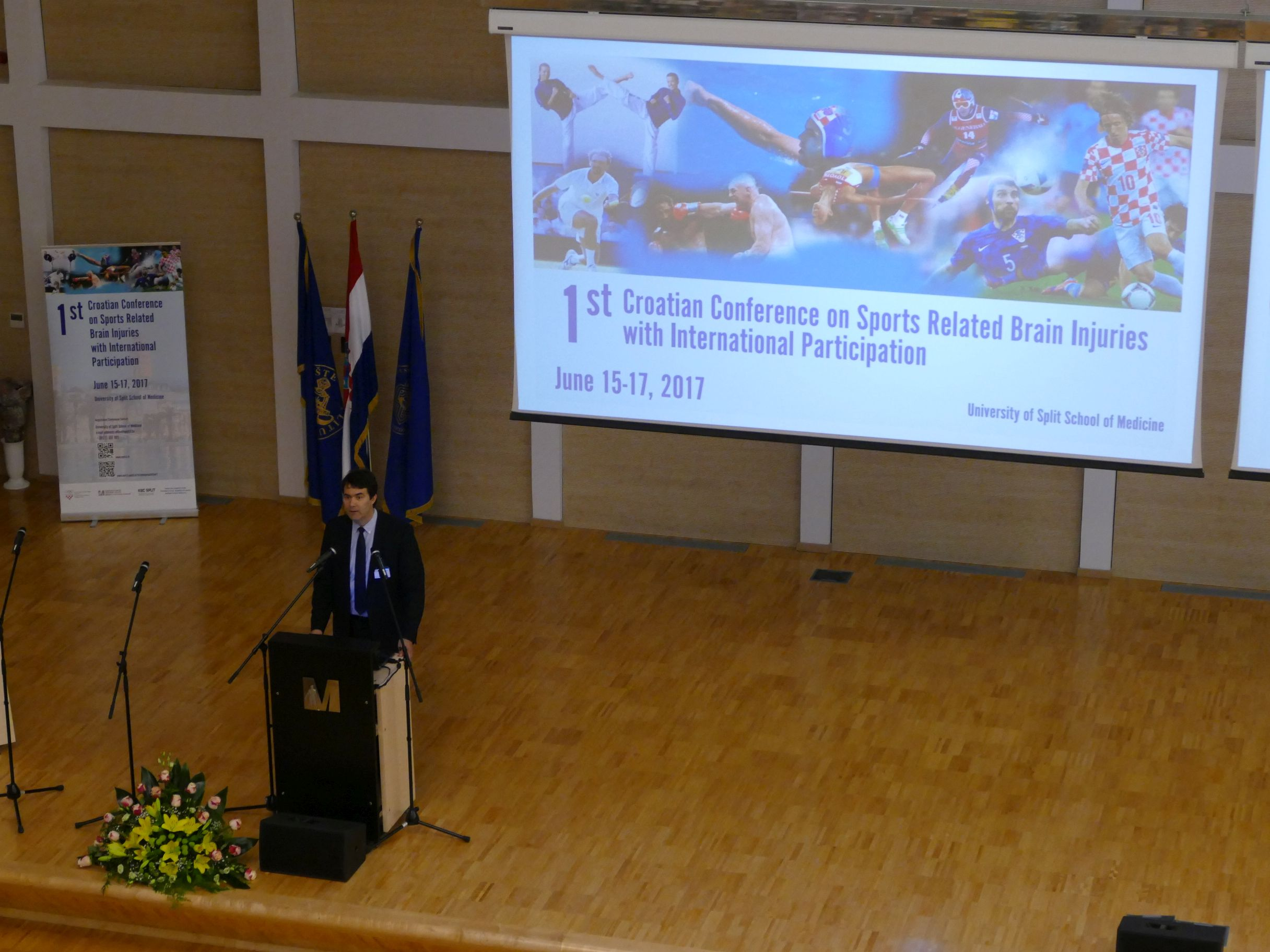 1st Croatian Conference on Sports Related Brain Injuries, June 15-17, 2017 - Photo Gallery