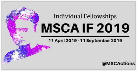 Individual Fellowships MSCA IF 2019