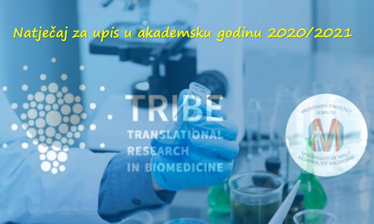 Doktorski studij TRIBE - natječaj za upis u akademsku godinu 2021/2022