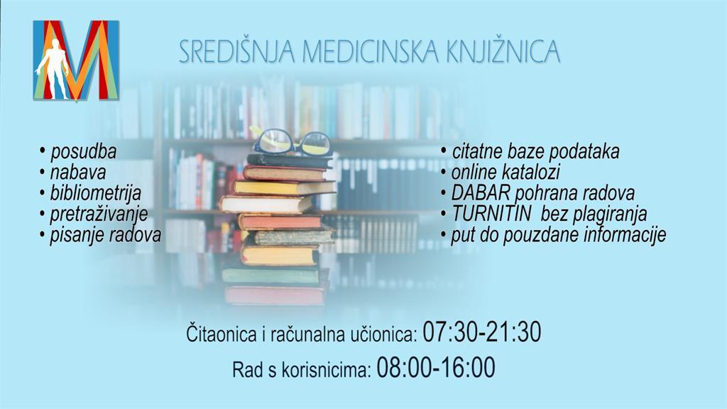 Radno vrijeme knjižnice od 01. rujna 2021.