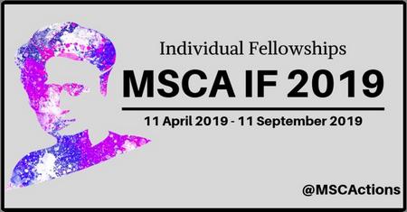 Individual Fellowships MSCA IF 2019