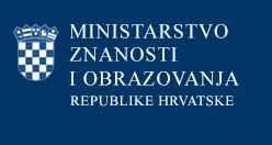 Popis trenutno otvorenih natječaja/poziva Ministrastva znanosti i obrazovanja RH