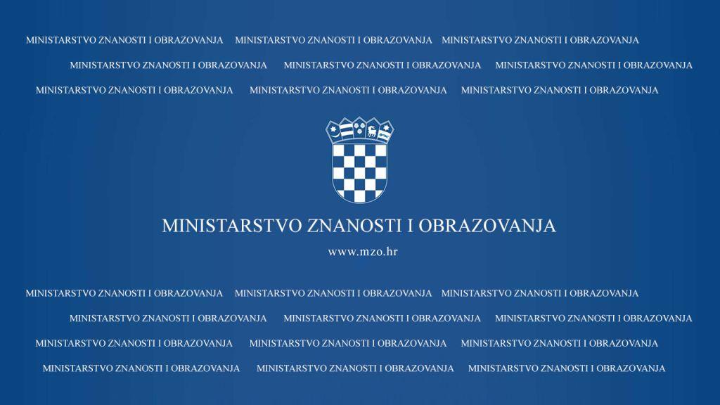 Obavijest o novim mjerama podrške Ministarstva znanosti i obrazovanja