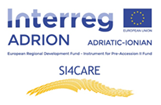 SI4CARE ADRION regions